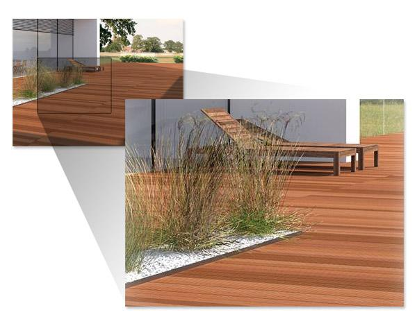 Tarasy drewniane i deski tarasowe - nowoczesne tarasy BKDHOME